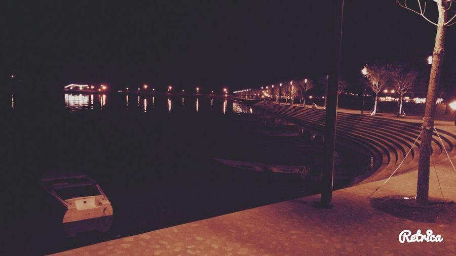 EyeEmNewHere Night Illuminated Outdoors No People Nature Water Sky