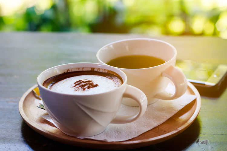 Close-up Coffee - Drink Coffee Cup Cup Day Drink Food And Drink Heat - Temperature No People Outdoors Table Tea - Hot Drink Tea Cup