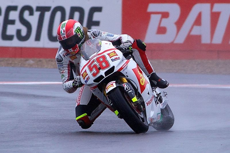 The Great Late. Marco Simoncelli. Sport Skill  One Person Sports Race Motorcycle Racing 58 Italian