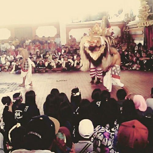 Dancing Barong Bali, Indonesia