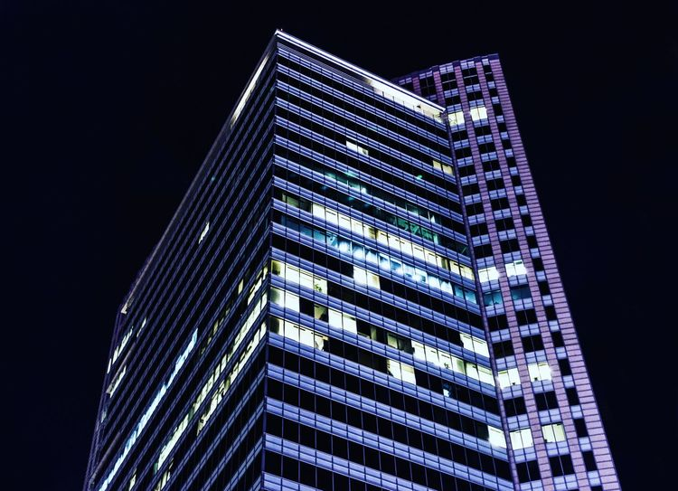 Photography Construction Budynki Konstrukcja Lights Artphoto Photography Światło Architecture Modern Skyscraper City Illuminated Architecture Building Exterior Office Building Tower Pyramid