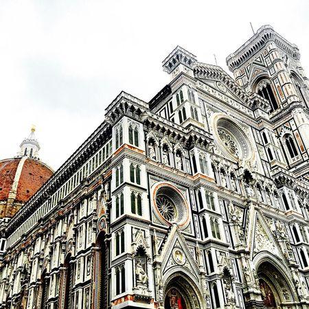 Italy Florence Firenze Duomo Santa Maria Del Fiore Cathedral Giotto Religious  Worship Campanile Architecture