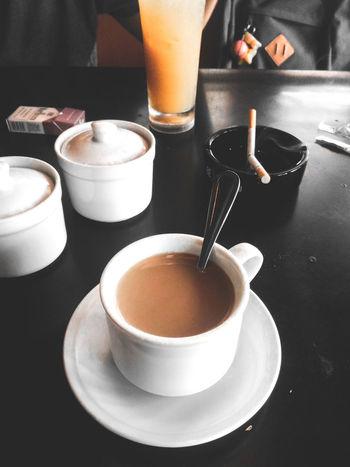 Coffee - Drink Coffee Cup Drink Food And Drink Espresso Cappuccino Coffee Coffee Time Coffee And Cigarettes Coffeeaddict Drinking Glass EyeEm Eyeem Philippines EyeEm Best Shots Eyeem Coffee EyeEmCoffee Lover Refreshment Indoors  Frothy Drink Freshness No People Latte Day EyeEmNewHere