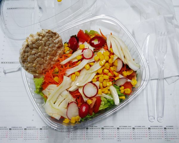 Show Us Your Takeaway! Salad Healthy Food Freshness The Color Of Business