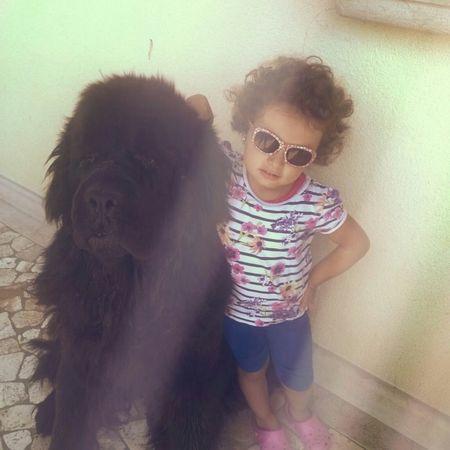Mybeautifuldog Dog❤ Niece 💕 Enjoying Life TERRANOVASTYLE Awesome Newfoundland Dog Love ♥ What I Value