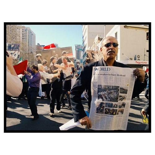 Egyptian protest, August 18, Sydney. Sydney Photography Photojournalism Lumia920 vscocam