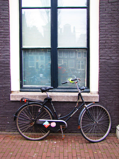 Bicycle Series Architecture_collection City Cycling Photography Street Life Street Photography Life Time Models Brick Wall Wall - Building Feature Street Photography EyeEmBestShots Outdoors Architecture Bicycle Day No People