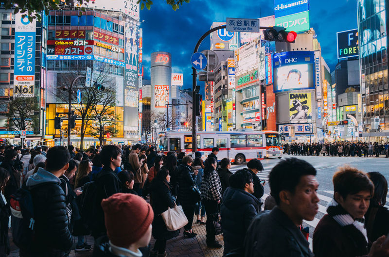 Japan Tokyo Adult Advertisement Architecture Building Exterior Built Structure City City Life Communication Crowd Group Of People Illuminated Large Group Of People Lifestyles Men Outdoors Real People Street Street Photography Walking Women