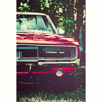 Dodge Charger Red Classic