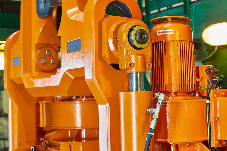 Full frame shot of yellow machine