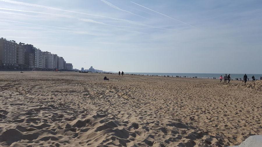 sandy Water Sea Beach Sand Summer Sky Horizon Over Water Low Tide Shore Sandy Beach Calm FootPrint