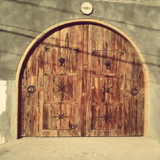 Porte Door Old Moderne Artisanl Wood Palm Douz Tunisie Tunisia