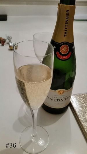 Celebrating....or drowning sorrows....somewhere loosely inbetween Champagne Friday Night Friends 365project Day 36