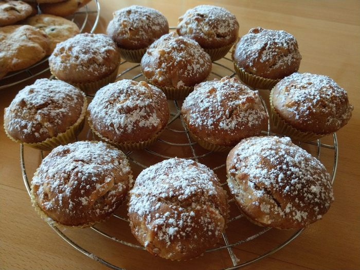 Apfelmuffins Home Homemade Homemade Food Backen Sweet Food Table Sweet Food Food And Drink Apple Pie