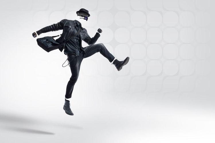 black rock fashion Black Fashion  Black Fashion  Classic Fashion Fashion Hollow Man Hollowman Jump Jumping Lifestyle Mensfashion Menstyle Menswear Motion Rock Fashion Rock N Roll Side View Style And Fashion