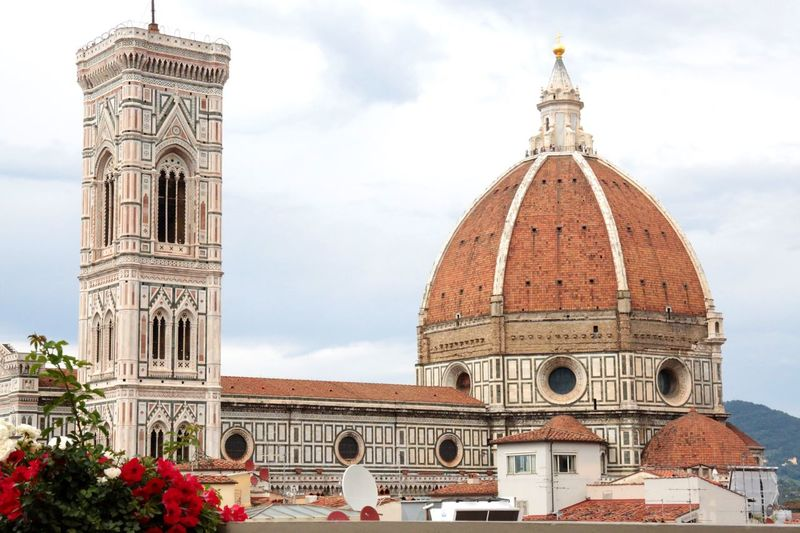 Majestic Cathedral In Florence