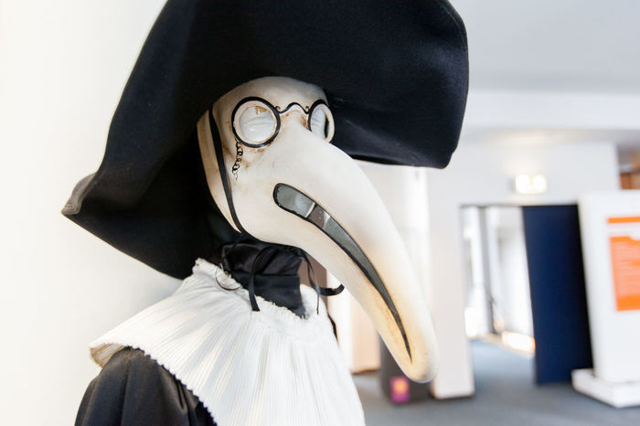 Focus On Foreground History Mask Mask - Disguise Medical Museum Plague Plague Doctor