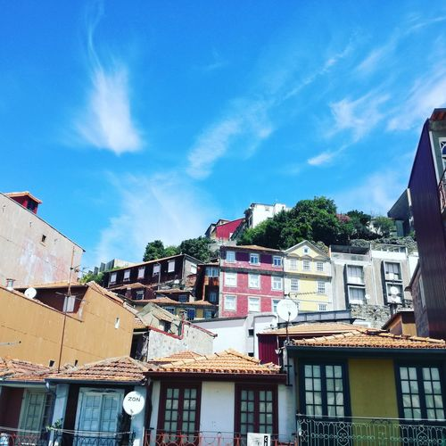 In Porto Porto Porto Houses Architecture Building Exterior Built Structure Day House No People Old House Residential Building Roof Tiled Roof