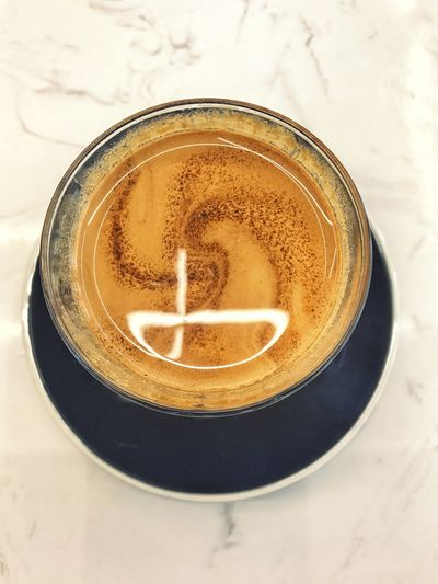 The Week On EyeEm Drink Coffee - Drink Food And Drink Refreshment Coffee Cup High Angle View Freshness Frothy Drink Table Directly Above No People Cappuccino Close-up Indoors  Saucer Froth Art Day