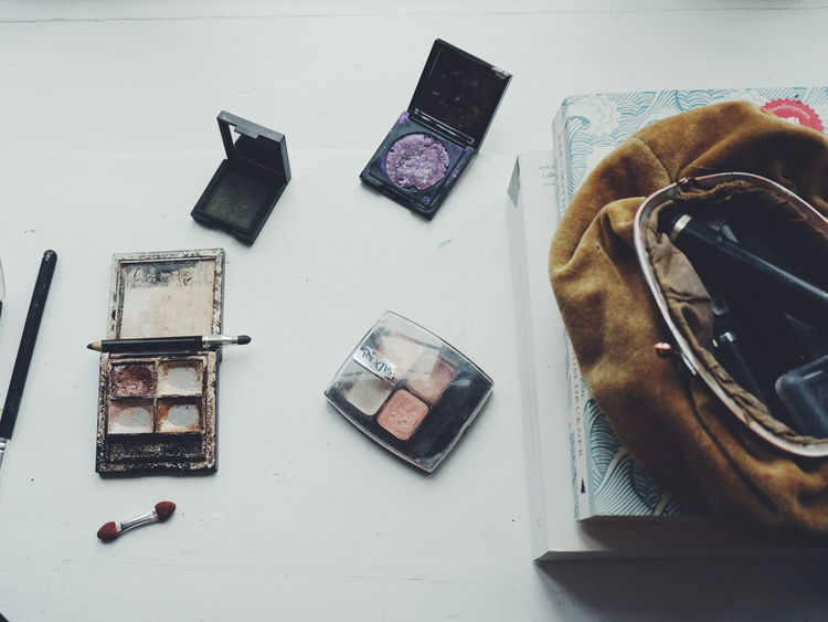 eye shadows Stage Make-up Party Prep Makeup Only Women Portrait Of A Woman Eye Shadow Makeup Time