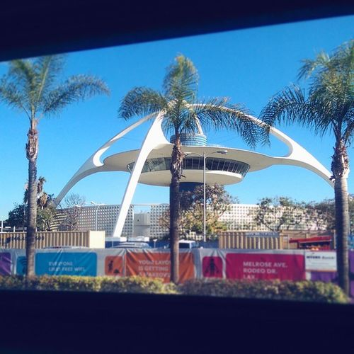 Boom!! Palm trees and Jetsons-esque buildings.... Guess where I am?!? Whereintheworld CheppySandiego Emmactravels Transit