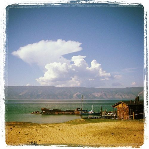 Байкал ольхон Хужир CanonA550 небомореоблака Baikal Olhon Island Skyseacloudes
