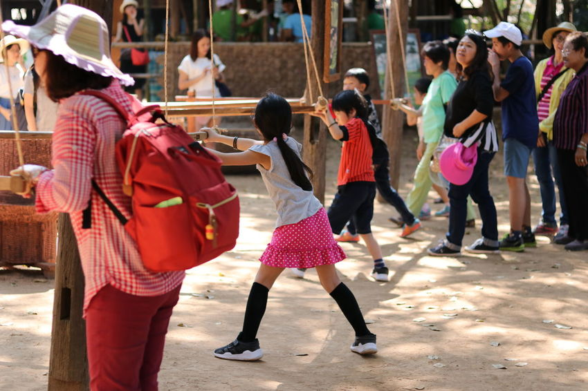 the tourist learning rural life at jim thompson farm Children Jim Thompson Farm Learning Rural Rural Lifestyle Thailand Thailand Photos The Tourist Tradition Traditional Culture Child Day Enjoyment Jim Thompson Large Group Of People Lifestyles Real People Rural Life Rural Scene Thai Culture Thailand_allshots Thailandtravel Togetherness Traditional