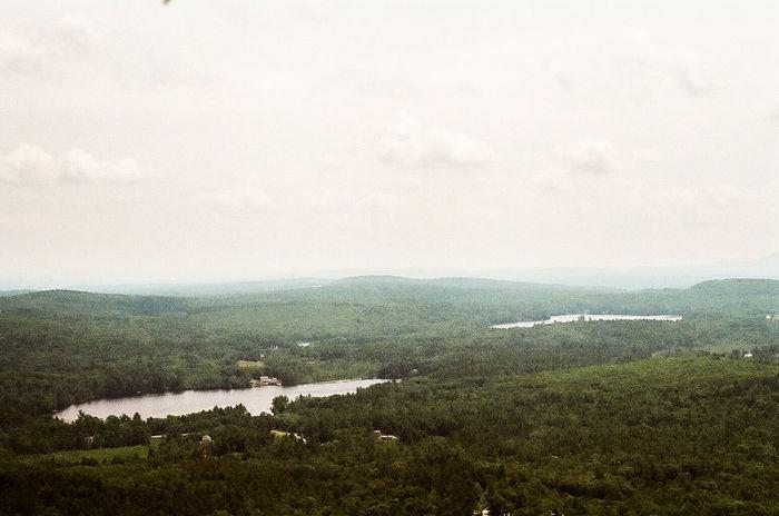 The mountain Mountain Trees Film 35mm