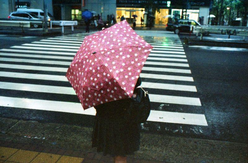 City Street Dots Film Ishootfilm Japan Kodak Rainy Days Street Streetphotography Tokyo Tokyo Diary Ultimate Japan Umbrella Showcase July