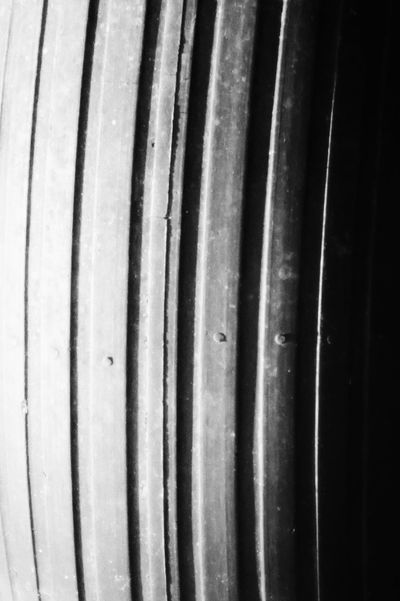 sick///tired III, tread light. [Last one of the tire, i promise. I think this is my favorite shot/edit.] Monochrome Darkness And Light Light And Shadow Lines Minimalism Abstract Pattern Black&white
