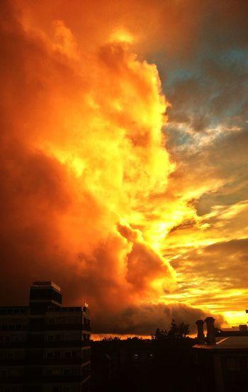 Stormclouds Cloudporn Islington London