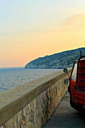 Sea Sunset Enjoying Life Salento Home Sweet Home <3