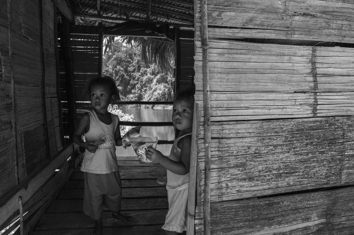 Two Eyes of Aborigines Kids Aborigines Asian Culture Diversity Humans Orang Asli Outdoors ASIA B&w Blackandwhite Bnw Indigenous  Kids Leisure Activity Lifestyles People Peoples Perak Person Poor  Portrait Royal Belum Tradisional Village