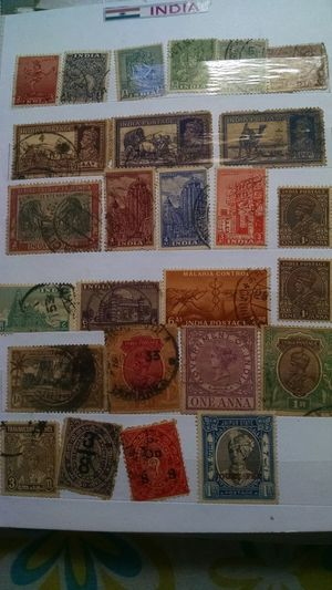 RARE Old Indian Stamps No People Multi Colored Close-up Indoors  Full Frame Variation Backgrounds Choice Day