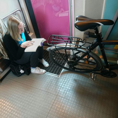 Traveling Finland Bytrain Train Bicyclelife Bicycles Biking Relaxing Transportation