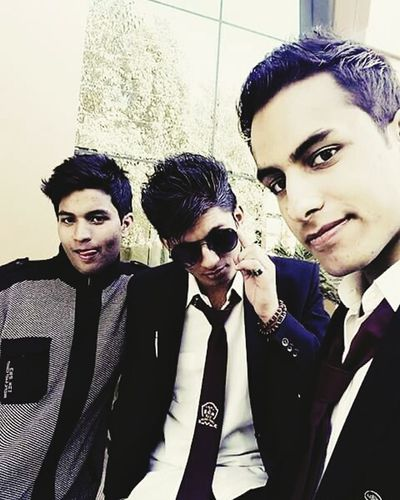 College diaries Togetherness Looking At Camera Standing Bonding Friendship Young Men Teenage Boys Front View Love Leisure Activity Portrait First Eyeem Photo Confidence