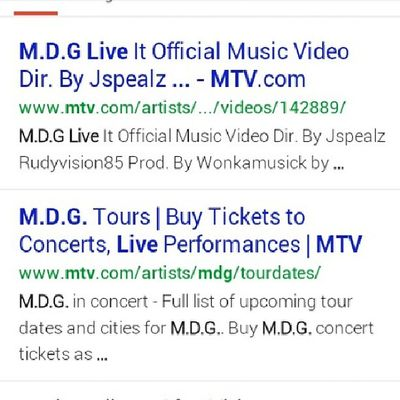 Get ready for new music videos photos news updates and more....google me fa now and check that hot shit out Mdgofficial LiveItEntertainmentGroup