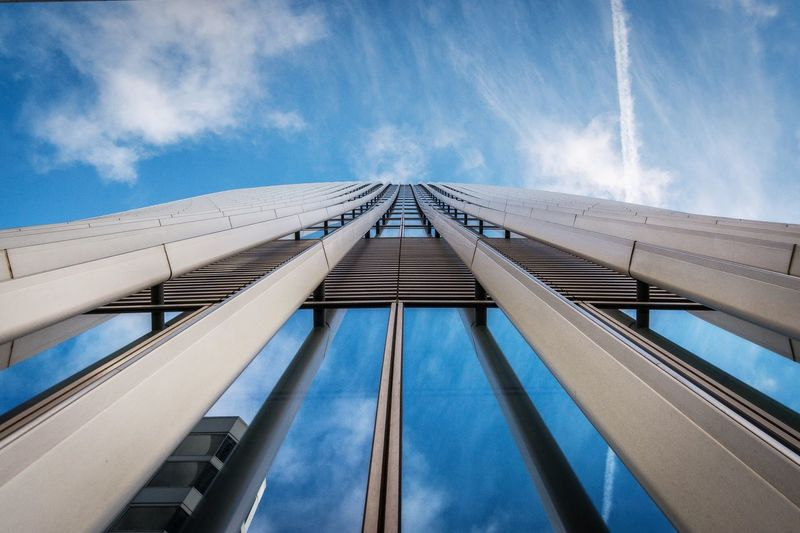 Blue Sky Low Angle View Architecture Built Structure No People Outdoors Building Exterior Day