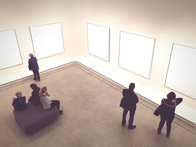 Picture Frame Exhibition Museum Painted Image Indoors  Projection Screen Adult People Day NOthIng Empty Places Modern Art ArtWork Art, Drawing, Creativity Museums Strange