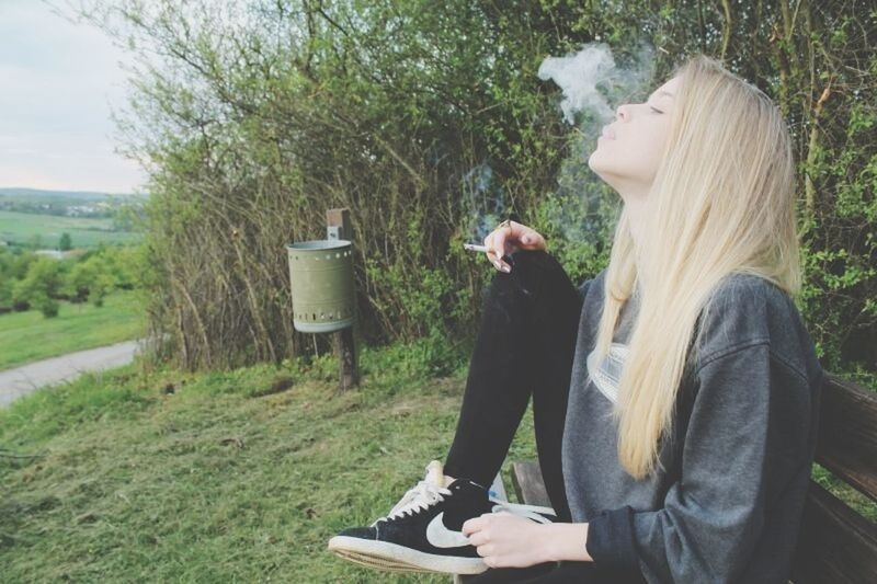 »we are all searching for someone whose demons play well with ours.« Chilling Outside Cold Smoke Smoking