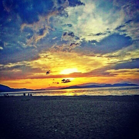 Sunset Hello World Samsung Galaxy Note ıı Taking Photos EyeEm Best Shots Holiday Gunbatimi Gununkaresi