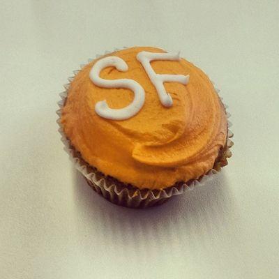Mmmm, personalised. Orange Cupcake SF Itsnotterrysitsmine