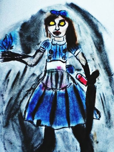 Bioshock Littlesister MyDrawing Awesome