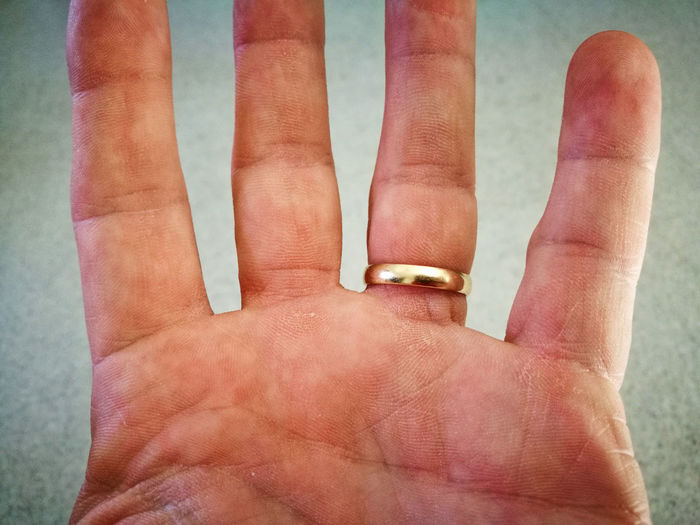 Hand Wedding Wedding Band Detail Finger Print Human Hand Close-up Human Finger Personal Perspective Finger Body Part Index Finger Palm This Is My Skin