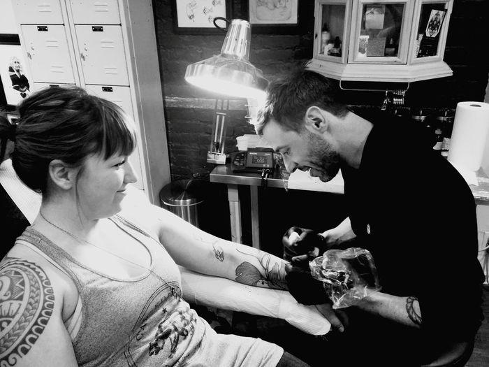 Tattoo Tattooartist  Montrealtattoo Mathieuhould