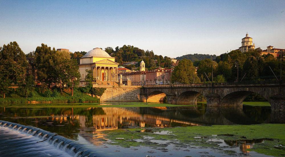 Algae Architecture Gran Madre Torino Rapids, River River PO Sunset Water