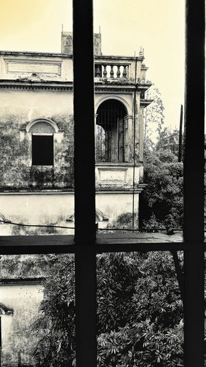 From a Diaolou looking at another Window Bars Kaiping Jiangmen Guangdong China Travelphotography