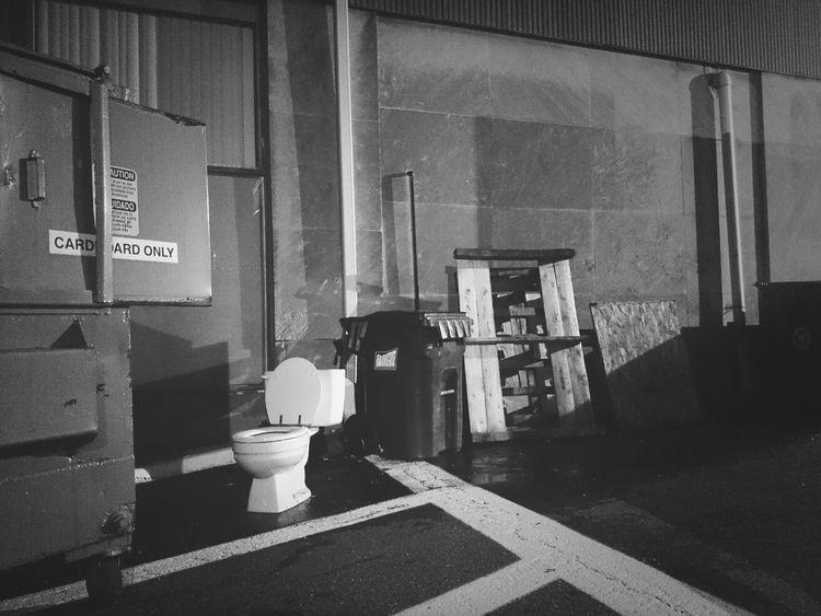 Sit Backalley Is This Seat Taken? Monochrome Night Photography #tymccl
