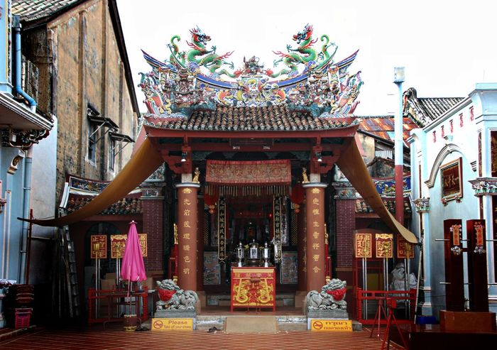 Architecture Built Structure Chinatown City Cultures Day No People Non-western Script Outdoors Phuket Old Town Travel Travel Destinations