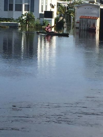 Flooding in Fort Myers, Florida (PRIOR to Hurricane Irma)! Flooding Fortmyersfl Lost In The Landscape